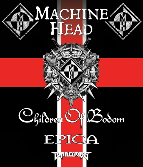 childre machine - Machine Head, Children of Bodom, Epica, & Battlecross team up for North American Fall Tour