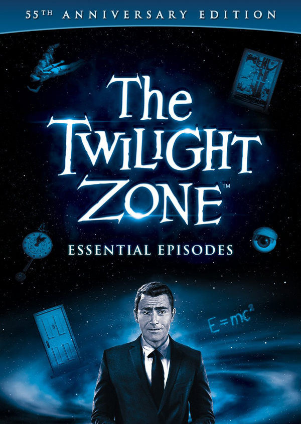 twlight cover - The Twilight Zone: Essential Episodes (55th Anniversary Collection) review