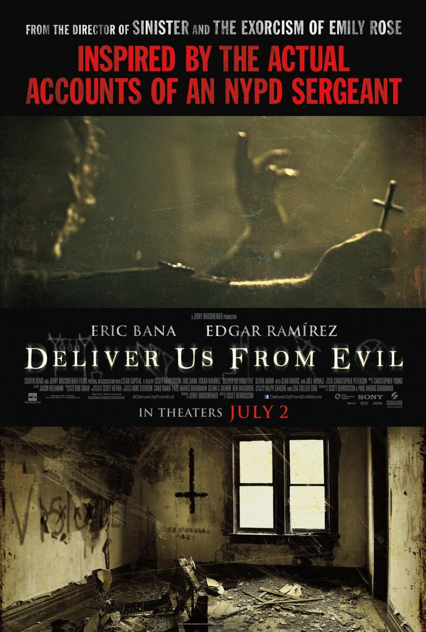 Deliver Us From Evil Movie Poster - Deliver Us from Evil (Movie review)
