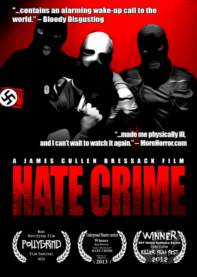 Hate Crime Poster - Hate Crime (Movie review)