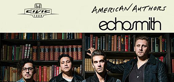 american slide - American Authors & Echosmith team up for Fall Tour