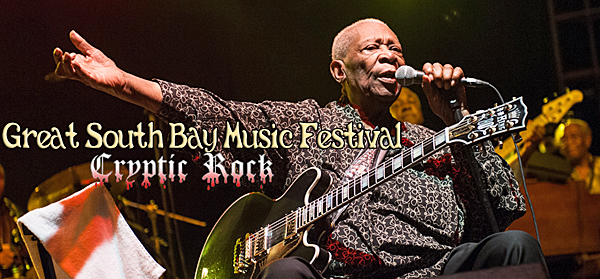 bb king slide - Taking Back Sunday & Circa Survive lead Great South Bay Music Festival Patchogue, NY 7-18-14