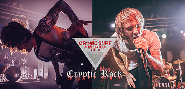 crowd surf slide 2 - Chiodos & Blessthefall dominate Starland Ballroom Sayerville, NJ 8-17-14 w/ Capture the Crown & I Killed The Prom Queen