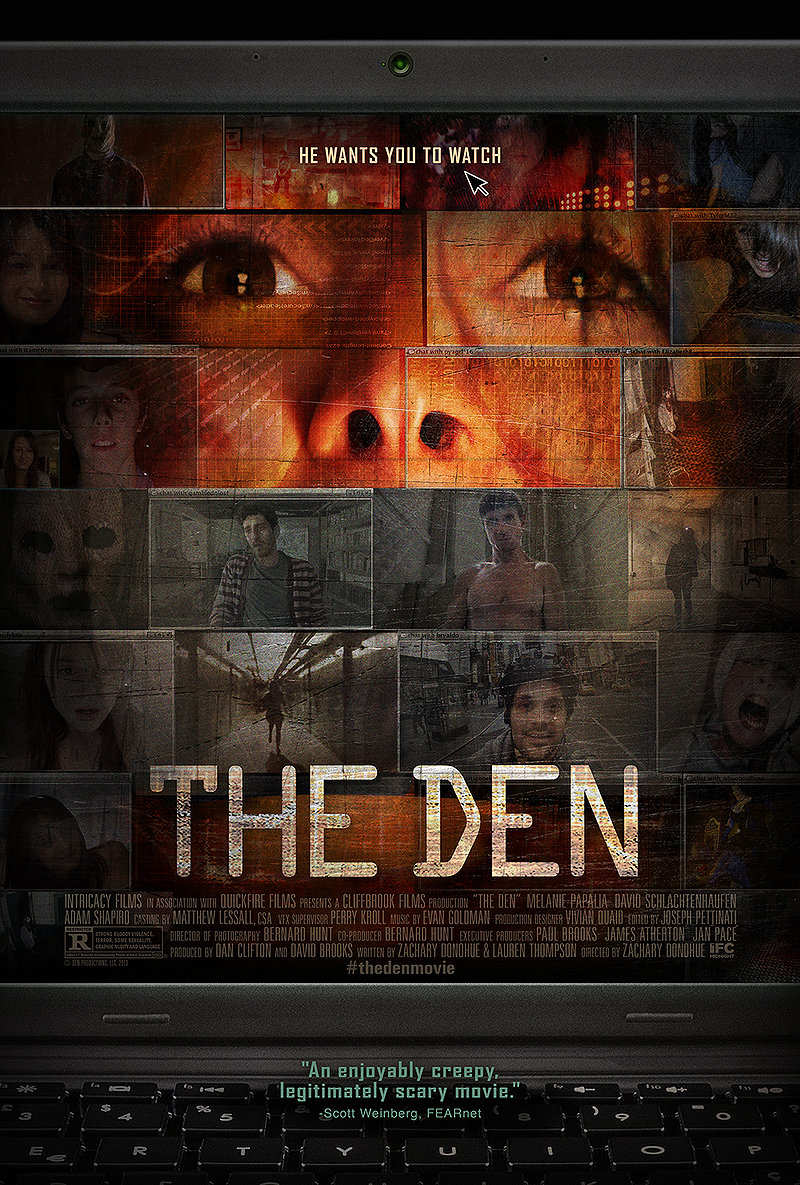 den movie poster - The Den (Movie review)