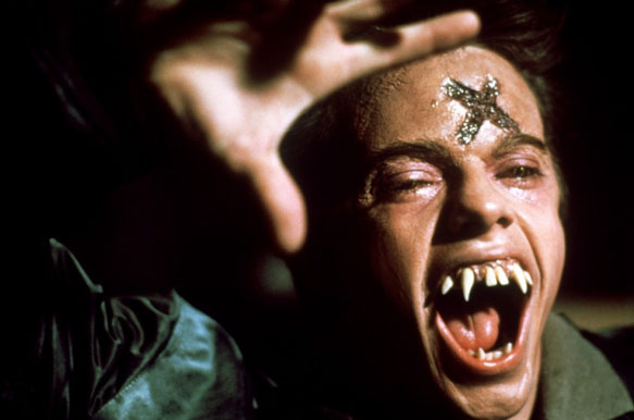 evil ed fright night 1985 cross - Fright Night takes a bite out of horror movie history