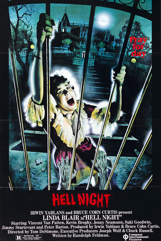 hellnightposter01 edited 1 - This week in horror movie history: Hell Night (1981)