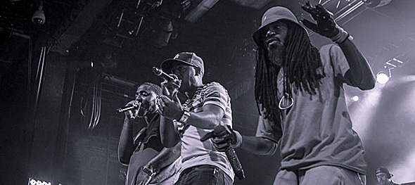 jurassic slide - Jurassic 5's magnificent return to NYC Best Buy Theater 8-2-14