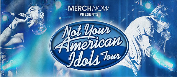 not your idol1 - Capture the Crown & For all Those Sleeping annnounce Co-Headline Not Your American Idols Tour
