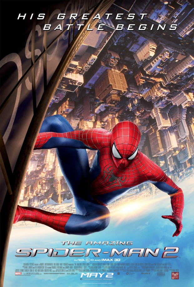 spiderman poster - The Amazing Spider-Man 2 (Movie review)