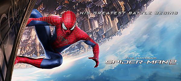 spiderman slide - The Amazing Spider-Man 2 (Movie review)