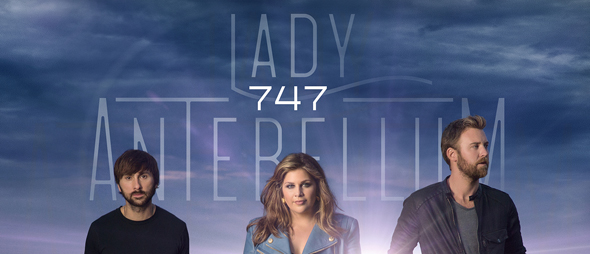LadyA 747 Cvr HIres WEB - Lady Antebellum - 747 (Album Review)