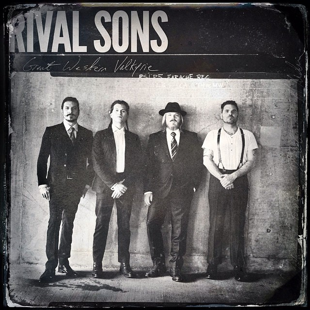 Rival Sons Great Western Valkyrie cover - Interview - Dave Beste of Rival Sons