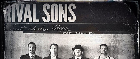 Rival Sons Great Western Valkyrie cover1 - Rival Sons - Great Western Valkyrie (Album Review)