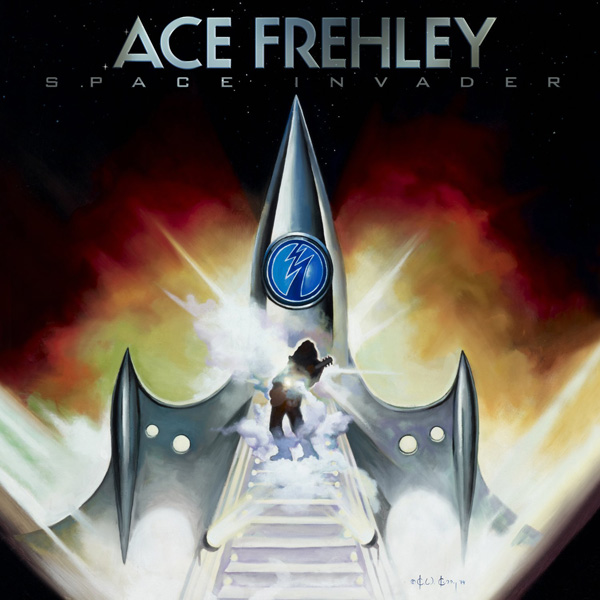 ace frehley space cover - Ace Frehley - Space Invader (Album Review)