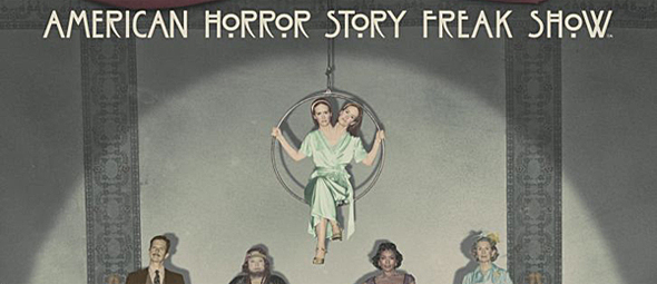 ahs s4 freak show banner - American Horror Story ready for Freak Show (Series Review)