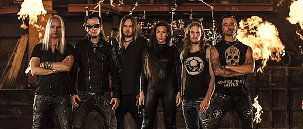 "amaranthe - Amaranthe release video for ""Drop Dead Cynical"""