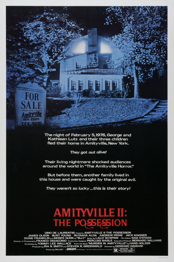 amityville 2 possession poster 01 - This Week in Horror Movie History - Amityville II: The Possession (1982)