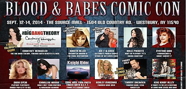 blood and babes comic con 36 slide - Blood & Babes Comic Con set for Sept 12-14th in Westbury, NY