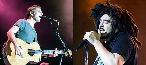 counting slide - Counting Crows & Toad the Wet Sprocket A Magical Evening at The Greek Theatre Los Angeles, CA 8/17/2014