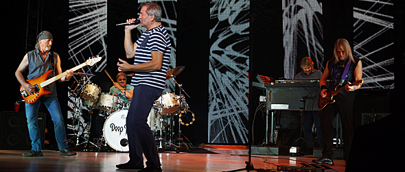 deep purple for slide - Deep Purple groove at NYCB Theatre at Westbury, NY 8-26-14