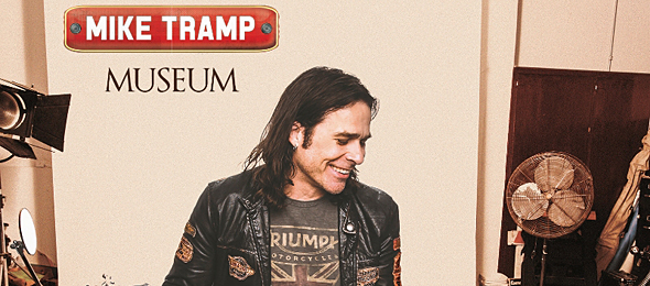 mike tramp album cover1 - Mike Tramp - Museum (Album Review)