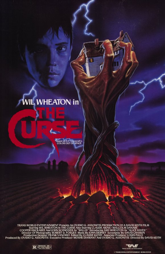 the curse movie poster 1992 10202333131 - This Week in Horror Movie History - The Curse (1987)