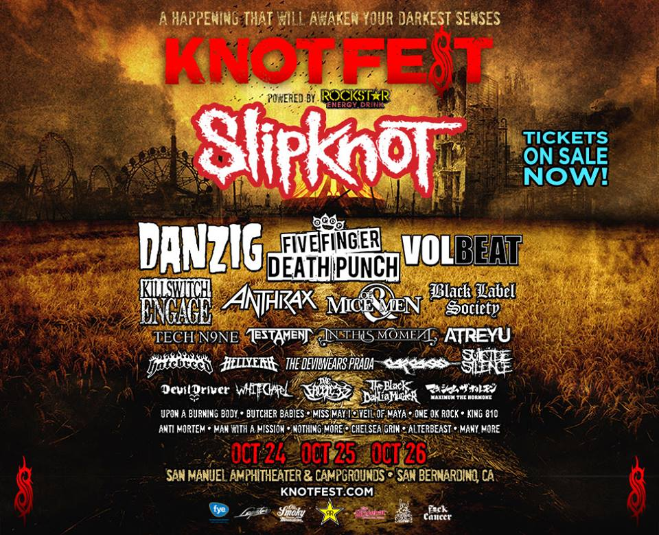 Knotfest 2014 - Knotfest ready to take over North America