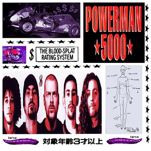 The Blood Splat Rating System - Interview - Spider One of Powerman 5000