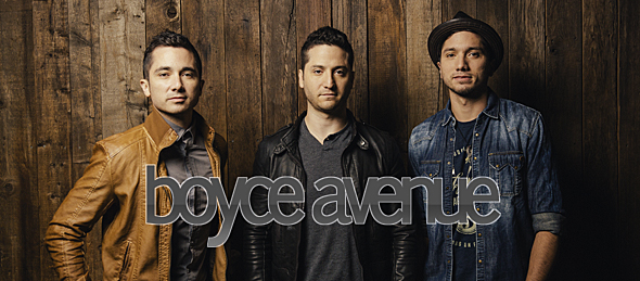 boyce avenue new new slide - Interview - Fabian Manzano of Boyce Avenue