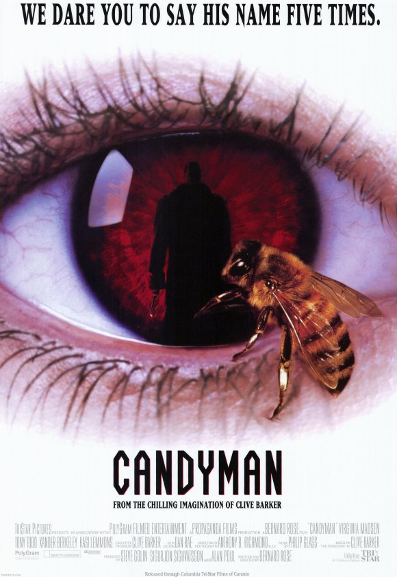 candyman movie poster 1992 - This Week in Horror History - Candyman (1992)