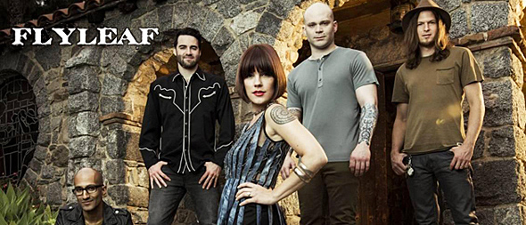 flyleaf slide - Interview - Kristen May of Flyleaf