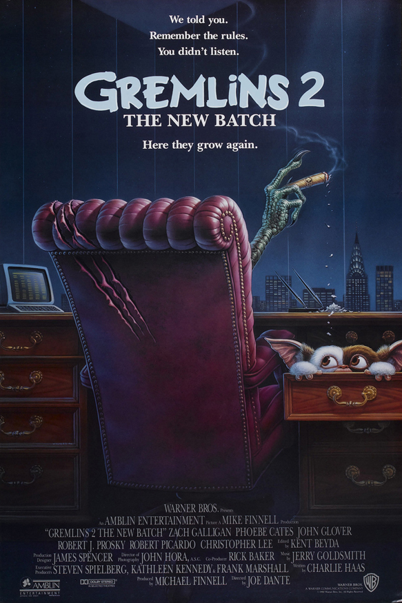 gremlins 2 the new batch original movie poster - Interview - Zach Galligan