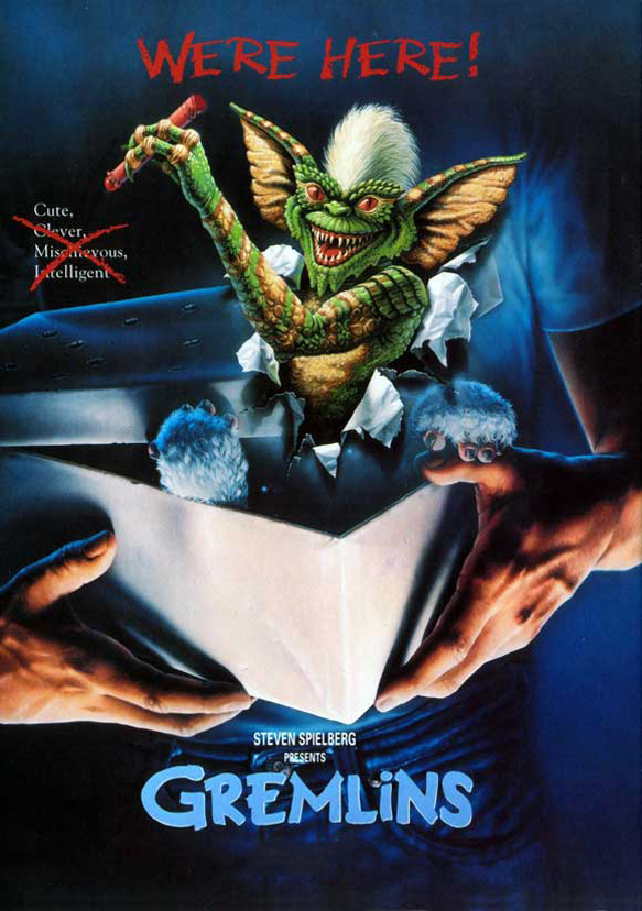gremlins edited poster - Interview - Joe Dante