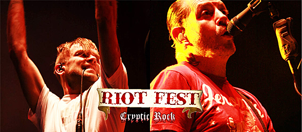 riot fest day 2 slide - Riot Fest Day Two Continues Excitement 9-20-14 Denver, CO