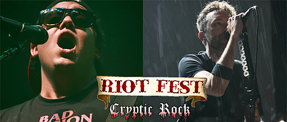 riot fest day 3 slide - Riot Fest Closes In Style 9-21-14 Denver, CO