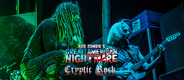 rob slide - Rob Zombie's Great American Nightmare spooking at Westworld of Scottsdale, AZ 9-19-14
