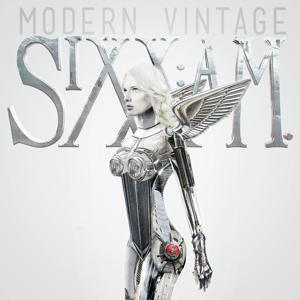 sixx am modern vintage art - Sixx:A.M. - Modern Vintage (Album Review)