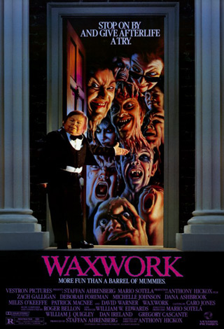 waxwork movie poster - Interview - Zach Galligan