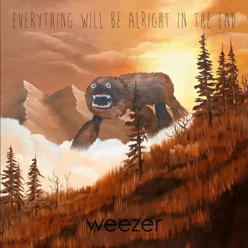 weezer album cover - Weezer - Everything Will Be Alright In the End (Album Review)