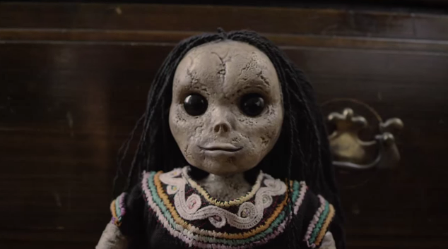 Syfy movie Finders Keepers doll - Finders Keepers (Movie Review)
