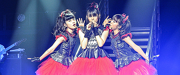 babymetal 3 slide edited 1 - BABYMETAL Take over Hammerstein Ballroom NYC 11-4-14