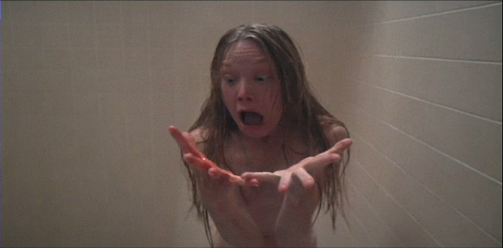carrie shower - This Week in Horror History - Carrie (1976)