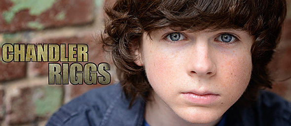 chandler slide - Interview - Chandler Riggs of The Walking Dead