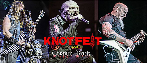 knotfest day 1 slide - Knotfest crushes in day one San Bernardino, CA 10-25-14