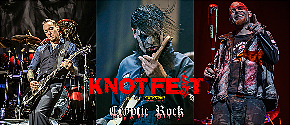 knotfest day 2 slide - Knotfest crushes in day one San Bernardino, CA 10-25-14