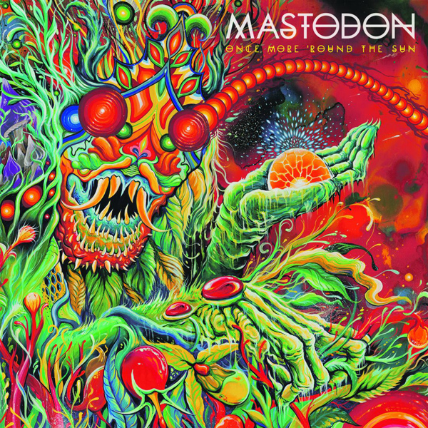 mastadon album cover - Mastodon - Once More 'Round The Sun (Album Review)