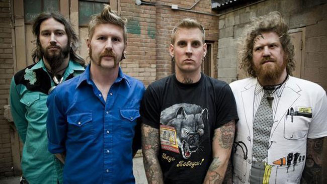 mastadon band photo - Mastodon - Once More 'Round The Sun (Album Review)