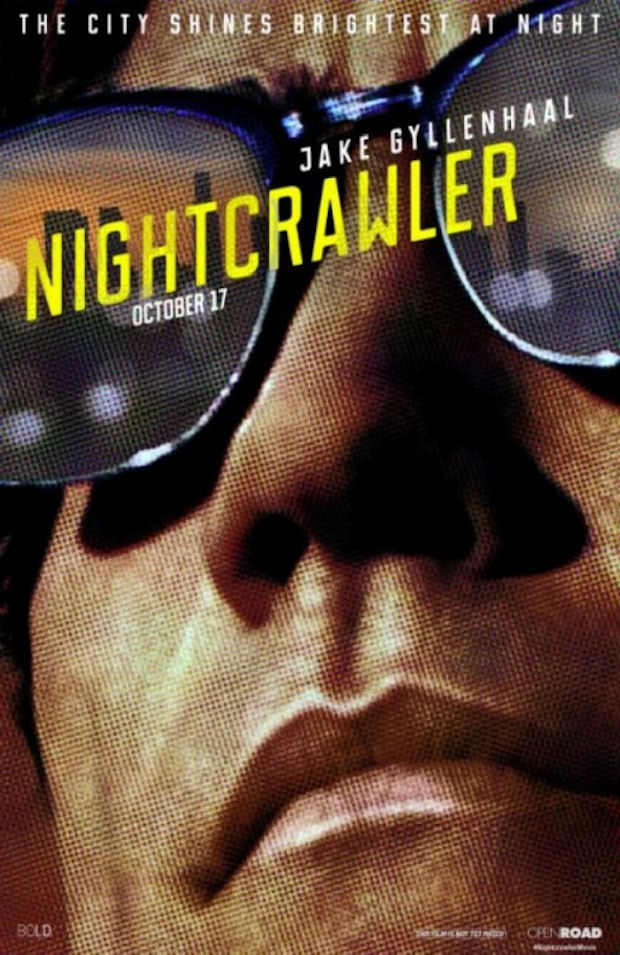 nightcrawler movie poster - Nightcrawler (Movie Review)
