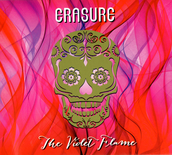 the violet flame cd scan - Erasure – The Violet Flame (Album Review)