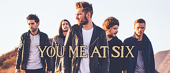 you me at six slide - You Me At Six ride high at Upstate Concert Hall 10-25-14 w/ Young Guns & Stars in Stereo